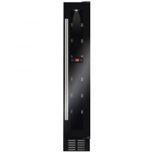 CDA FWC153BL 15cm Freestanding Under Counter Wine Cooler – BLACK