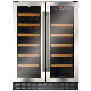 CDA FWC624SS 60cm Freestanding Under Counter Wine Cooler – STAINLESS STEEL