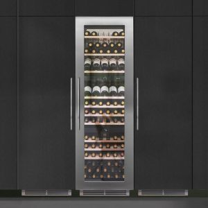 Caple WC1791 179cm Integrated In Column Triple Zone Wine Cooler – STAINLESS STEEL