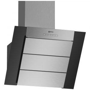 Neff D65IBE1S0B 60cm Angled Chimney Hood – BLACK