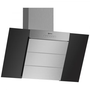 Neff D85IBE1S0B 80cm Angled Chimney Hood – BLACK