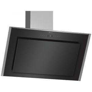 Neff D95IMT1N0B 90cm Angled Chimney Hood – BLACK