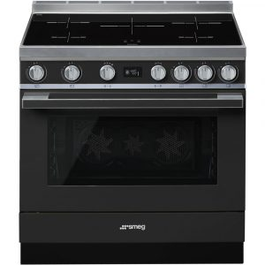 Smeg CPF9IPAN 90cm Portofino Pyrolytic Induction Range Cooker – ANTHRACITE