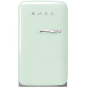 Smeg FAB5LPG Pastel Green Retro Mini Bar Fridge Left Hand Hinge – PASTEL GREEN