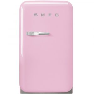 Smeg FAB5RPK Pink Retro Mini Bar Fridge Right Hand Hinge – PINK