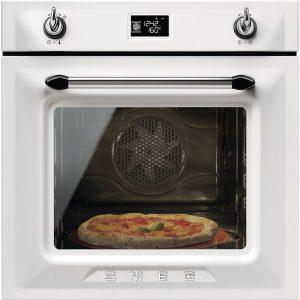 Smeg SFP6925BPZE1 Victoria Single Pyrolytic Multifunction Oven – WHITE