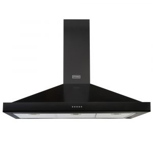 Stoves S1100STERCHIMBLK 110cm Chimney Hood – BLACK