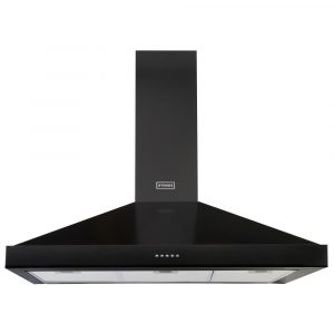 Stoves S900STERCHIMBLK 90cm Chimney Hood – BLACK
