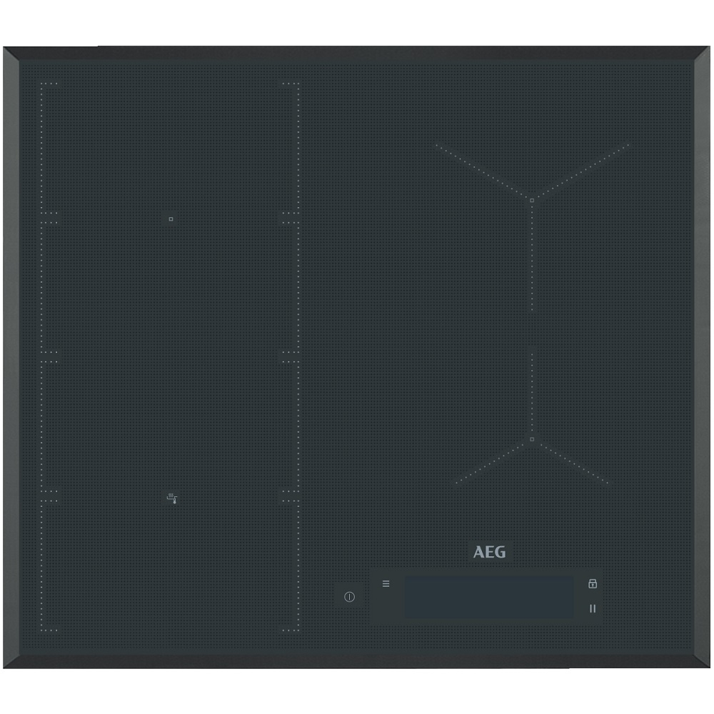 Aeg Iae64850fb 60cm 4 Zone Maxisense Induction Hob