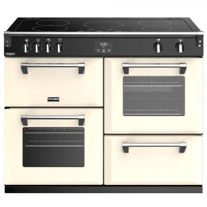 Stoves RICHMOND DX S1100EICC 4926 Richmond Deluxe 110cm Induction Cooker – CREAM