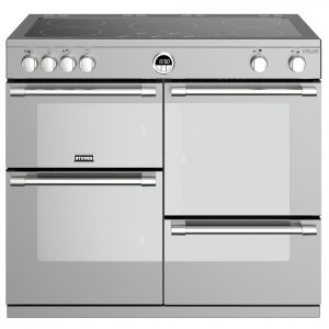 Stoves STERLING DX S1000EISS 4950 Sterling Deluxe 100cm Induction Range Cooker – STAINLESS STEEL