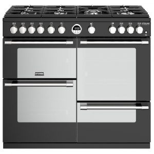 Stoves STERLING DX S1000GBK 4945 Sterling Deluxe 1000mm Gas Cooker – BLACK