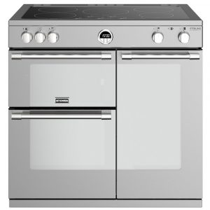Stoves STERLING DX S900EISS 4940 Sterling Deluxe 90cm Induction Range Cooker – STAINLESS STEEL