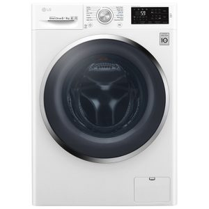 LG F4J6AM2W 8kg/4kg Direct Drive Washer Dryer 1400rpm – WHITE