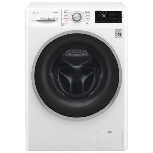 LG F4J6JY1W 10kg Direct Drive Steam Washing Machine 1400rpm – WHITE