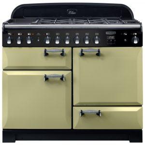 Rangemaster ELA110DFFOG/ Elan Deluxe 110cm Dual Fuel Range Cooker 118040 – OLIVE GREEN