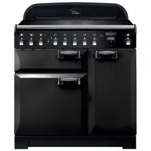 Rangemaster ELA90EIBL/ Elan Deluxe 90cm Induction Range Cooker 118400 – BLACK