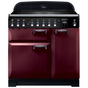 Rangemaster ELA90EICY/ Elan Deluxe 90cm Induction Range Cooker 118430 – CRANBERRY