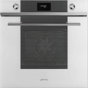Smeg SFP6101TVB Linea Pyrolytic Multifunction Single Oven – WHITE