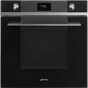 Smeg SFP6101TVN Linea Pyrolytic Multifunction Single Oven – BLACK