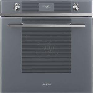 Smeg SFP6101TVS Linea Pyrolytic Multifunction Single Oven – SILVER