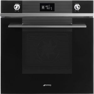 Smeg SFP6102TVN Linea Pyrolytic Multifunction Single Oven – BLACK