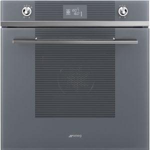 Smeg SFP6102TVS Linea Pyrolytic Multifunction Single Oven – SILVER