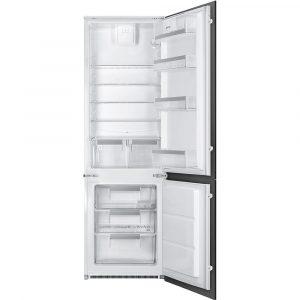 Smeg UKC7280FP1 178cm Integrated 70/30 Fridge Freezer