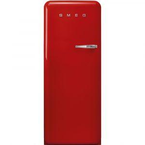 Smeg FAB28LRD3UK 60cm Retro Refrigerator Left Hand Hinge – RED