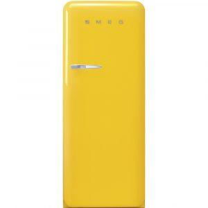 Smeg FAB28RYW3UK 60cm Retro Refrigerator Right Hand Hinge – YELLOW