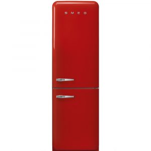 Smeg FAB32RRD3UK Retro Frost Free Fridge Freezer Right Hand Hinge – RED