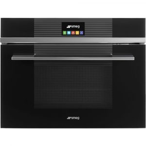 Smeg SF4104MCN Linea Built In Combination Microwave – BLACK