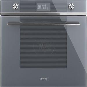 Smeg SF6102TVSG Linea Multifunction Single Oven – SILVER