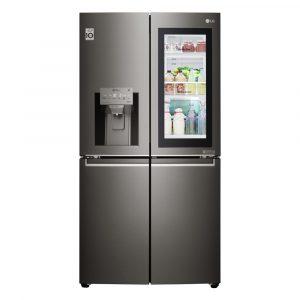 LG GMX936SBHV Instaview Door In Door French Style Fridge Freezer With Ice & Water – BLACK STEEL