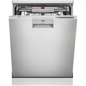 AEG FFE63806PM 60cm Freestanding ComfortLift Dishwasher – STAINLESS STEEL
