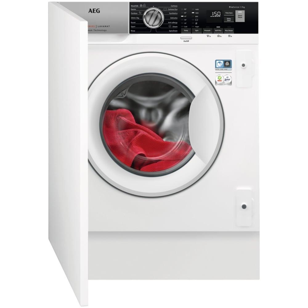 AEG L7FE7461BI 7kg Fully Integrated ProSteam Washing Machine