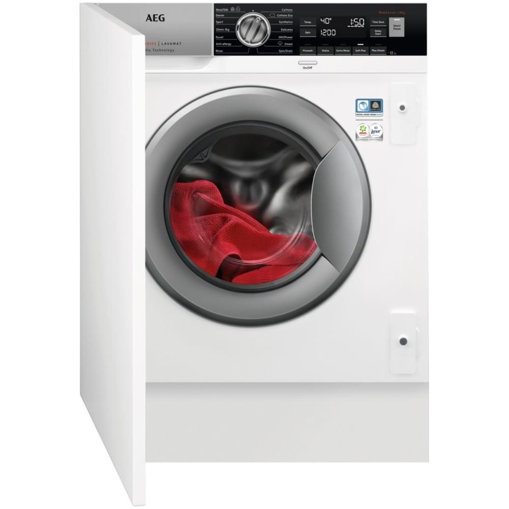 AEG L8FC8432BI 8kg Fully Integrated OkoMix Washing Machine