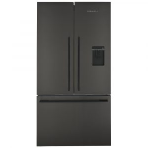 Fisher Paykel RF540ADUB5 Goliath French Style Fridge Freezer With Ice & Water – BLACK STEEL