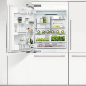 Fisher Paykel RS9120WLJ1 91cm Integrated Fridge Freezer With Ice Maker Left Hand Hinge