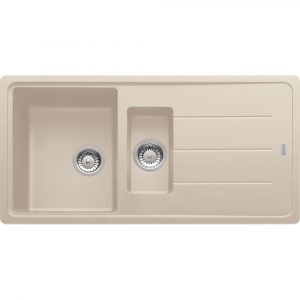 Franke BFG651 CO Basis Fragranite 1.5 Bowl Sink – COFFEE