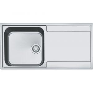 Franke MRX211 RHD Maris Single Bowl Sink Right Hand Drainer – STAINLESS STEEL