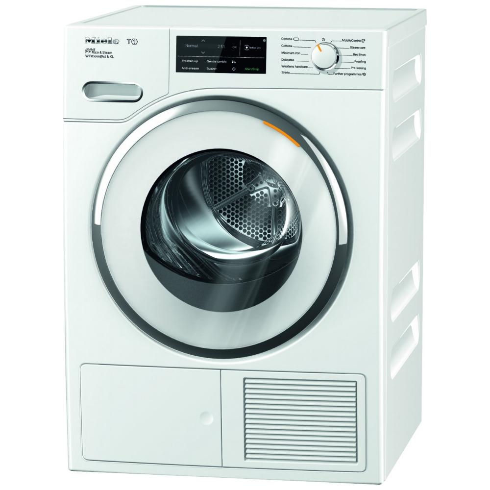 Miele Twj680wp 9kg T1 Heat Pump Condenser Dryer White