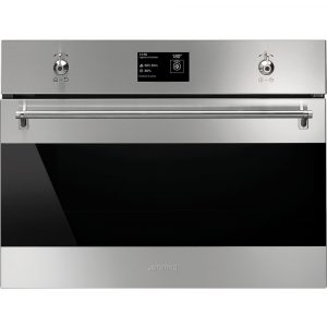 Smeg SF4390VCX1 45cm High Compact Classic Steam Combination Oven – STAINLESS STEEL