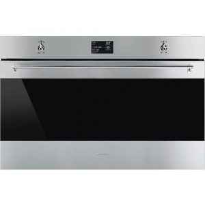 Smeg SFP9395X1 90cm Classic Pyrolytic Multifunction Single Oven – STAINLESS STEEL