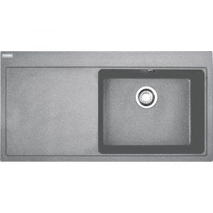 Franke MTG611 LHD SG Mythos Fragranite Sink Left Hand Drainer – STONE GREY