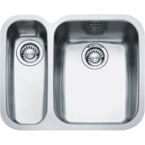 Franke ARX160-D LHSB Ariane 1.5 Bowl Undermount Sink Left Hand Small Bowl – STAINLESS STEEL