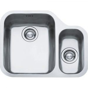 Franke ARX160 RHSB Ariane 1.5 Bowl Undermount Sink Right Hand Small Bowl – STAINLESS STEEL