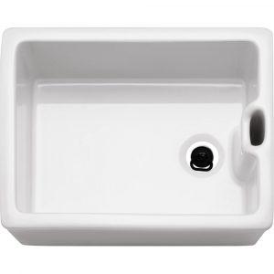 Franke BAK710 Belfast Ceramic Single Bowl Sink – WHITE