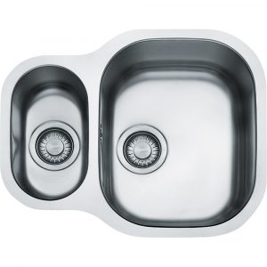 Franke CPX160P Compact Plus 1.5 Bowl Undermount Sink – STAINLESS STEEL