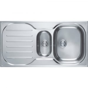 Franke CRXP651 Compact Plus 1.5 Bowl Sink – STAINLESS STEEL